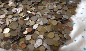 Обмен иностранных монет